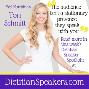 Dietitian Speaker Tori Schmitt