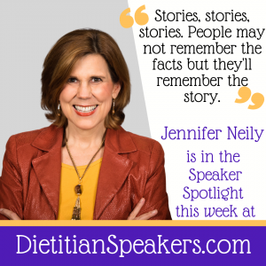 Dietitian Speaker Jennifer Neily